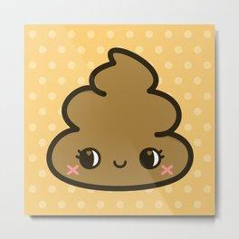 Cutey poop Metal Print