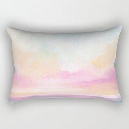 Peace, Love & Joy - Tropical Ocean Seascape Rectangular Pillow