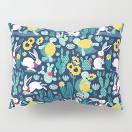 The tortoise and the hare Pillow Sham