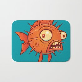 Pufferfish Bath Mat