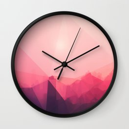 Paper Town Wall Clock