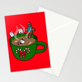 Relaxing Hot Cocoa Stationery Cards