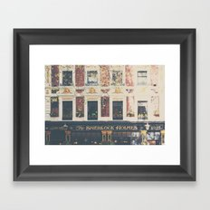 a pub with a difference ...  Framed Art Print