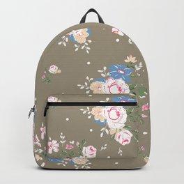 Heirloom Rose - Raw Umber Backpack