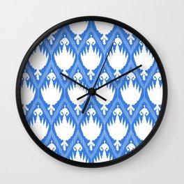 Mimi Ikat Wall Clock