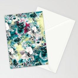 Blue Garden Stationery Cards