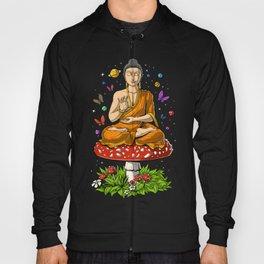 Buddha Magic Mushrooms Meditation Hoody