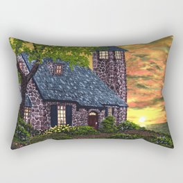 Essex House Lighthouse by Ave Hurley  Rectangular Pillow