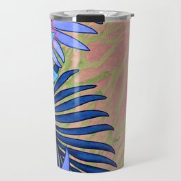 A Run Through the Jungle Blues Travel Mug