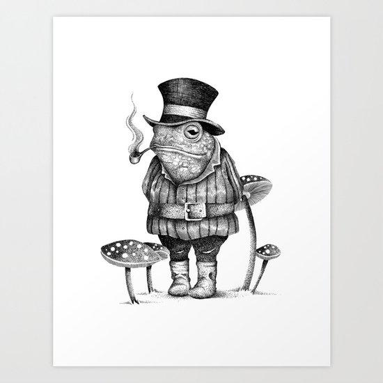 MISTER FROG Art Print