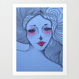 NIGHT VIGIL Art Print