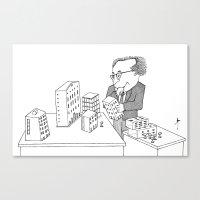 architect Canvas Prints featuring The Architect by Steve Bonello
