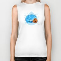 aquarius Biker Tanks featuring Aquarius by Giuseppe Lentini