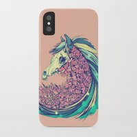 horse iPhone & iPod Cases featuring Beautiful Horse by Diego Verhagen