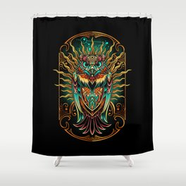 Sowl Keeper Shower Curtain