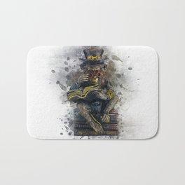 Steampunk Monkey Bath Mat