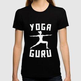 Yoga Guru Warrior Two Silhouette T-shirt