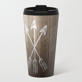 3 Cross Arrows Travel Mug