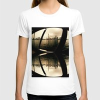 cityscape T-shirts featuring Cityscape by sysneye