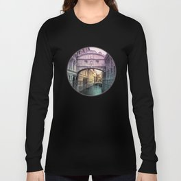 Ponte dei Sospiri | Bridge of Sighs - Venice (colored version) Long Sleeve T-shirt