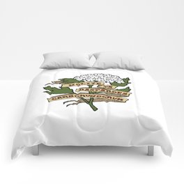 Handmaid's Tale - NOLITE TE BASTARDES CARBORUNDORUM (color) Comforters