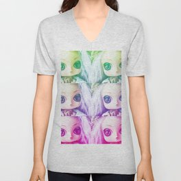Dollie Unisex V-Neck