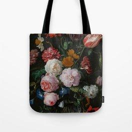"Jan Davidsz. de Heem ""Still Life with Flowers in a Glass Vase"" Tote Bag"