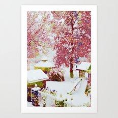 SNOW DAY - 015 Art Print