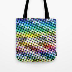 Halftone Color Chart Tote Bag