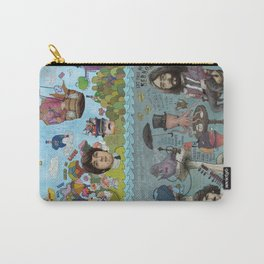 Lonely Hearts, Rubber Soul & Magical Yellow Submarine Tour Carry-All Pouch