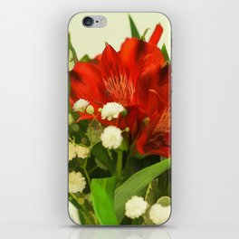 Modified - Still life with flowers iPhone Skin