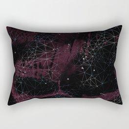 Geometric Galaxy Rectangular Pillow