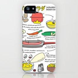 Japanese Potato Salad iPhone Case