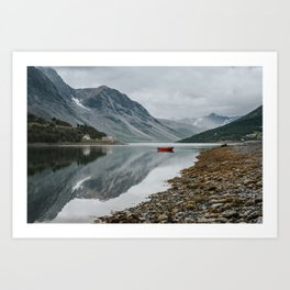 Norway I - Landscape and Nature Photography Art Print