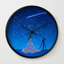 Serendipity Wall Clock