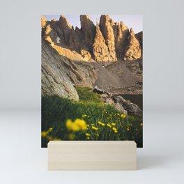 Alpine Sunrise Mini Art Print