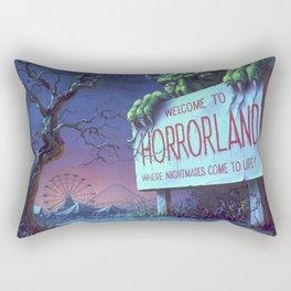 One Day at Horrorland Rectangular Pillow