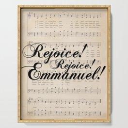 Rejoice! Emmanuel! Serving Tray