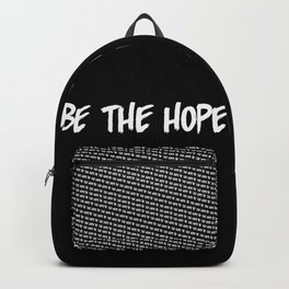 BE THE HOPE Backpack