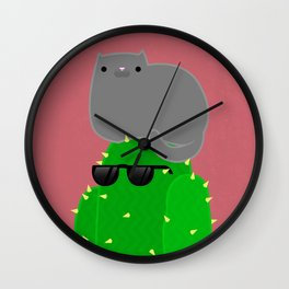 LAZY Wall Clock