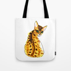 bengal kitten Tote Bag