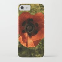 woodstock iPhone & iPod Cases featuring woodstock flowers by Teresa Gabry