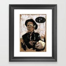 Tom Waits? Framed Art Print