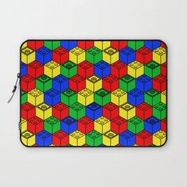 trippy building blocks Laptop Sleeve