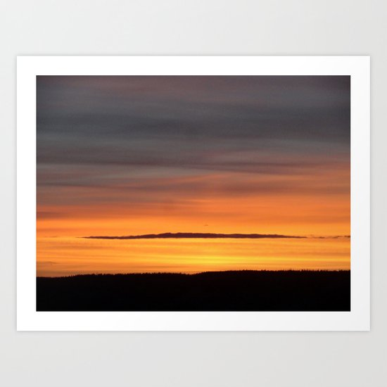 Sunrise Sunset Art Print