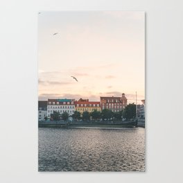 Danish Sunset Canvas Print