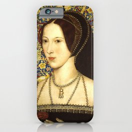 Queen Anne Boleyn iPhone Case