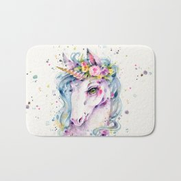 Little Unicorn Bath Mat