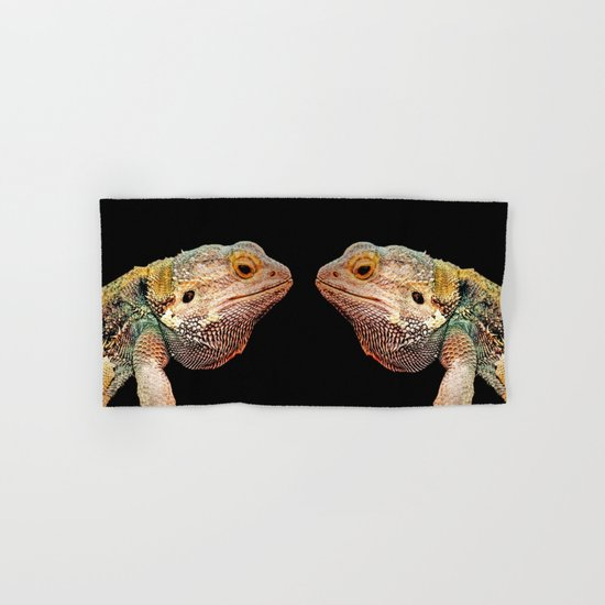 BEARDED DRAGON Hand & Bath Towel