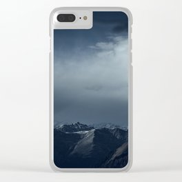 We wanted to sleep in the mountains Clear iPhone Case